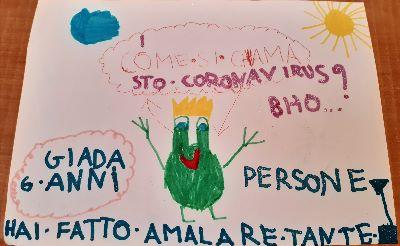 Disegno Coronavirus - Associazione Lea